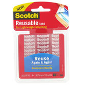 Scotch Reusable Mounting Tabs